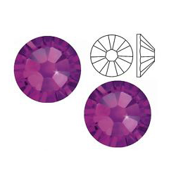 Swarovski Nail Elements/ Amethyst Size 5 (100pc)