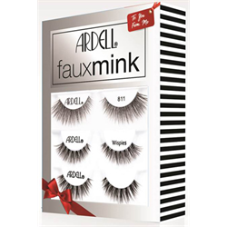 Ardell/Holiday* Faux Mink 3pk (811, Wispies, 817) #71138
