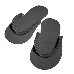 Spa/Slippers Go Green Eco Friendly (COMFY) BLK