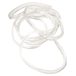 Hair Elastics/Mini 100/Bag (MINI-ELASTIC)