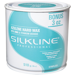 Spa/SilkLine Wax Azulene Hard Wax 18oz (SL18AZUHRDC)