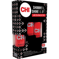 CHI * Deal Shimmer, Shine & Set(Iron Guard/Helmet Head/Shine/Silk)