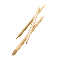 "Spa/HandsDown 4"" Birchwood Cuticle Sticks 100pk (54256)"