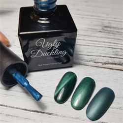 Ugly Duckling Gel Polish 0.5oz - #80 Cats Eye Collection Teal