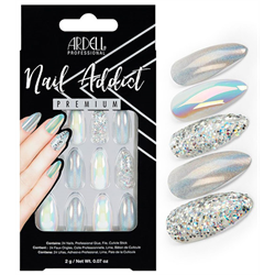 Ardell/Nail Addict Premium Artificial Nail Set-Holographic (75889)