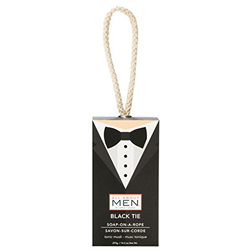 Upper Canada/ Men's Soap On A Rope (Black Tie)