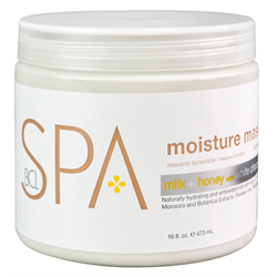 Spa/BCL Moisture Mask Milk+Honey w/White Chocolate 16oz