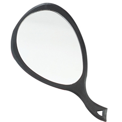 Mirror / Avanti #0446 Oval XL - Black