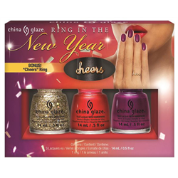 China Glaze*Holiday 'Ring In The New Year'