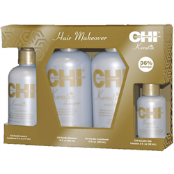CHI * Deal Keratin 'Hair Makeover' 4pc Gift Set