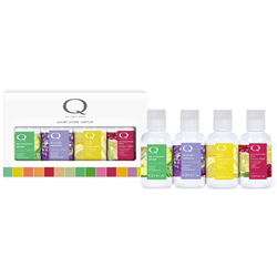 Qtica* Luxury Lotion Sampler 4pc 'Clean & Crisp'