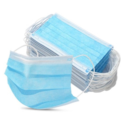 PPE/ Face Masks Disposable 3ply 50pk (SSA)