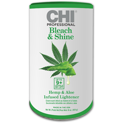 CHI/Bleach & Shine Hemp & Aloe Infused Lightener 16oz (9+levels)