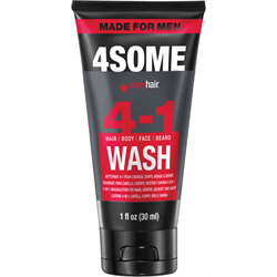 Sexyhair/SySH Made For Men 4Some 4-1 Wash 1oz MINI